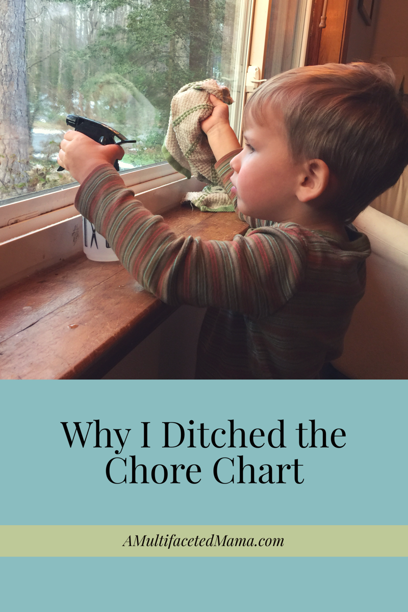 Why I ditched the chore chart-- but not the chores